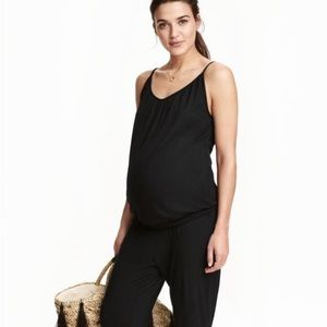 H&M jersey knit maternity jumpsuit